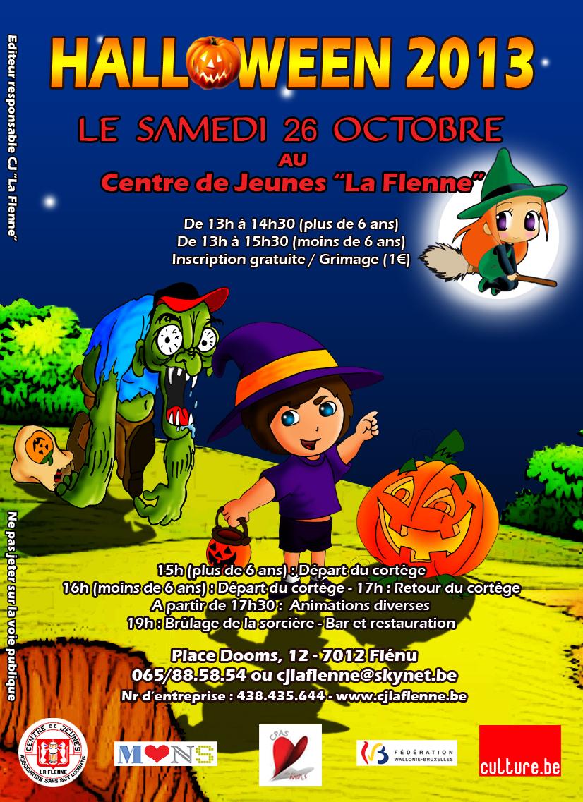 affiche halloween 2013