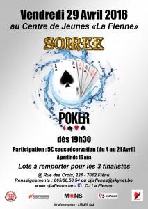 Soirée poker 29 avril 2016